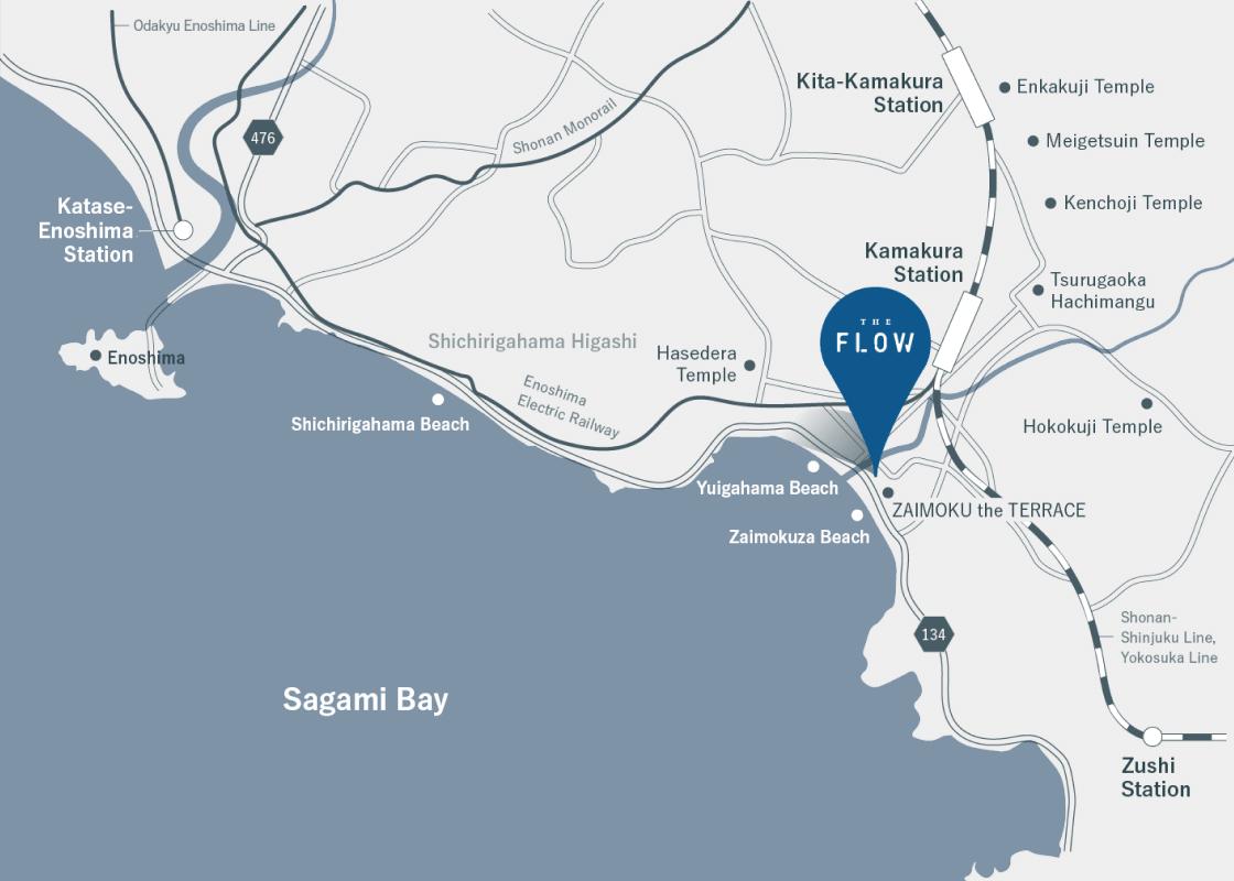 施設へのアクセス 地図